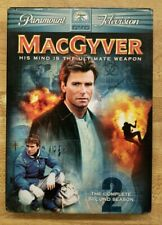 MacGyver - The Complete Second Season (Dvd, 2005, 6-Disc) Richard Dean Anderson