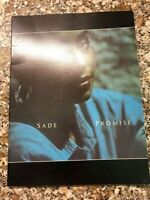 SADE PROGRAMME FROM HER UK PROMISE TOUR IN THE 80'S