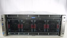 HP ProLiant DL580 G8 4x E7-4880 V2 60 Cores 512GB Memory G9 P830i 2GB iLO4