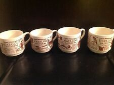 Sears, Roebuck & Co. coffee cups -Catalog 1906 set of 4
