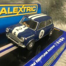 Scalextric 1:32 Mini Cooper Neptune Racing #2 C3405
