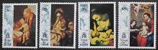 Christmas: Religious paintings stamps 1993 Tristan da Cunha, SG ref: 549-552 MNH