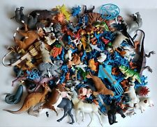 Lot Of 255 Toy Plastic Animal Figures