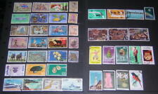 Thailand 1967-1980 hi val selection 43 diff used stamps cv $80