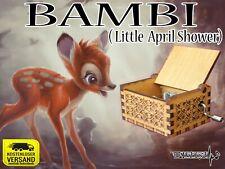 Bambi - Little April Shower Spieluhr Musicbox Neu Fanartikel