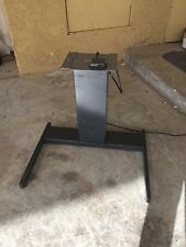 """Mayline Adjustable Height Electric Motorized Sit To Stand Work Desk 24""""- 39''"""