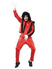 Michael Jackson Thriller 80s 90s 1980s Pop Star Mens Fancy Dress Costume Outfit