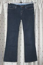 """GAP Ladies Sexy Bootcut Stretch Jeans ~ Size 34"""" Waist ~ Low Rise"""