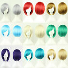 Unisex Synthetic Wig/Cosplay Party Wig Various Colors Short Hair Messy Hairstlye