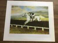 DESERT ORCHID - LIMITED EDITION PRINT 14/2500  - 1989 - by MAXINE COX