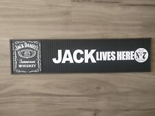 Jack Daniels JD pvc rubber bar mat runner barmat Pickup Available