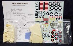 Lone Star Models 1/48 MARTIN B-26 SHORT WING Resin Model Conversion Kit!