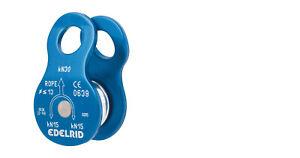 Edelrid Kleine robuste Seilrolle Rolle für Flaschenzüge Seilbahnen und ähnliches