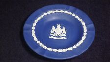Wedgwood Dark Blue Queen's Silver Jubilee Ashtray - Nice!