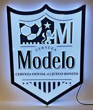 """MODELO ~ Cerveza Oficial del Juego Bonito ~ LED Sign ~ NEW in BOX ~ 24"""" x 17.5"""""""