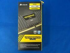 DDR4 Corsair Vengeance LPX, Noir, 8 Go (1 x 8 Go), 3000 MHz