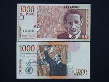 COLOMBIA BANKNOTES - 1000 PESOS  -  FANTASTIC NOTES  -  DATE 2015   MINT UNC