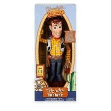 Disney Talking Woody Doll Toy Story 4 Deluxe Action Figure 35cm Toy Detector