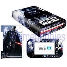 Star wars darth vader vinyl skins decals pour console Nintendo Wii U contrôleur
