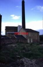 PHOTO  1995 CALDERBANK MILLS DEWSBURY CHIMNEY AND TALL BEAM ENGINE HOUSE WITH TA