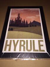 Poster enmarcado Zelda Hyrule 33 x 48 cm