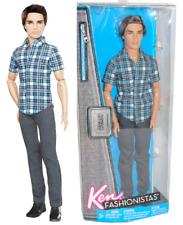 "Barbie Ken Fashionistas ""Ryan"" brun mains et bras articulés 2011 neuf en boite"