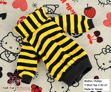☆╮Cool Cat╭☆54.【NI-27】Blythe Pullip Lovely Clothes # Stripe Yellow