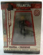Viz Media Fullmetal Alchemist Volume 4 Manga & Figure Set Sealed