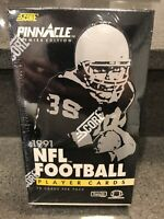 1991 Score Pinnacle NFL Football Premier Edition Factory Sealed Box, 36 Packs