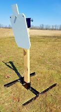 """Steel Target Stand and hanger, includes 12""""X20""""  Silhouette AR500 Steel Target"""