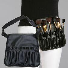 12 Pockets Makeup Artist Brush Belt Strap Apron Holder Cosmetic Tools Case Bag