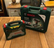 Bosch PSB 1800 Li-2 Cordless Combi Drill wth Battery Case PLUS some drill bits