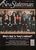 NEW STATESMAN MAGAZINE - 10 January 1997