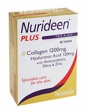 Health Aid Nurideen Plus 60 Tablets Non-Vegetarians, Skin and 1 Month +