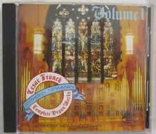 Franck Complete Works For Organ Vol 1 Newman Organ CD Newport Classic 60060 1989