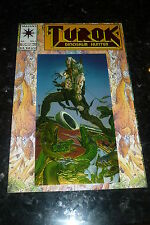 TUROK Comic - DINOSAUR HUNTER - No 1 (Green tunick) - 07/1993 - Valiant Comic's