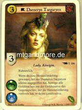 A Game of Thrones LCG - 1x Daenerys Targaryen  #106 T - Base Set deutsch