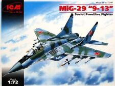 MiG 29 TYPE 9-13 FULCRUM C (UKRAINIAN & RUSSIAN AF MARKINGS) 1/72 ICM BEST EVER