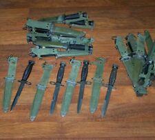 Knife M7Bayonet M8A1 Scabbard Army Military Police Marine Usmc w P38 Can Opener