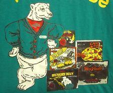 CAMPBELL'S SOUP tee XL Proud to be Team Omaha T shirt Polar Bear mascot