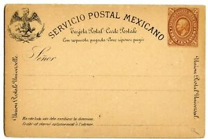 MEXICO REPLY CARD 3c+3c, EARLY ISSUE, LIGHT EDGE TONING                  (A826)
