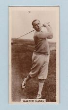 More details for golf card - famous golfers (j. millhoff & co. ltd.) - #2 walter hagen