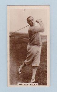 Golf Card - Famous Golfers (J. Millhoff & Co. Ltd.) - #2 Walter Hagen