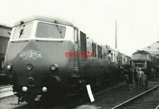 PHOTO  BRISTOL PULLMAN METROPOLITAN CAMMELL CLASS 251 8-CAR BLUE PULLMAN DMU THE