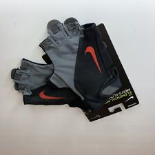 Nike Elemental Midweight Fitness Gloves Black Red Training Mens Size LARGE