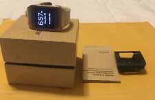 Samsung Galaxy Gear Watch Model SM-V700 With Cream White Band.
