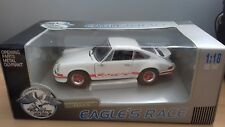 Universal Hobbies Eagles Race 1:18 Scale 1973 Porsche 911 Carrera 2.7L White