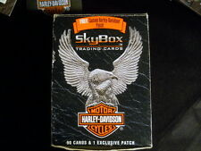 Harley Davidson Sky Box Trading Cards w/ Patch Tribute to the U.S. Armed Forces