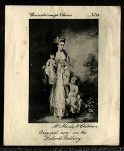 Tobacco Card, Ardath, GAINSBOROUGH SERIES, 1915, Mrs Moody & Children, #29