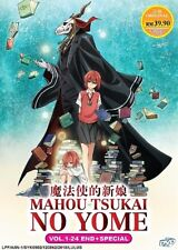 DVD The Ancient Magus' Bride Complete Anime English Dubbed 24 Episodes